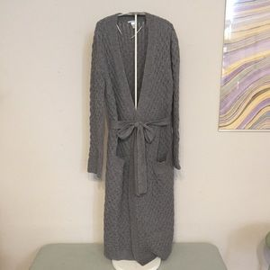 Eberjey Ila gray robe S/M